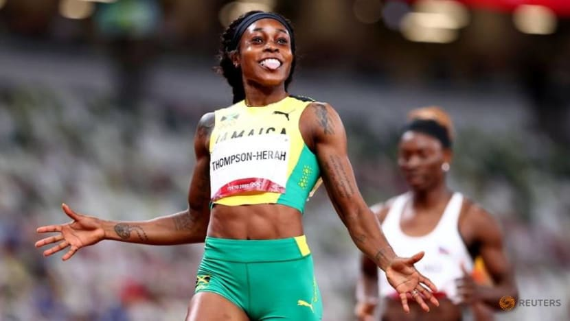 Olympics-Sprint queen Herah-Thompson says was blocked on Instagram over TV rights