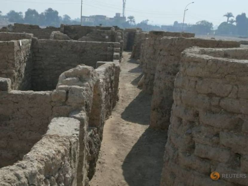 Archaeologists unearth 'ancient Egyptian Pompeii' near Luxor