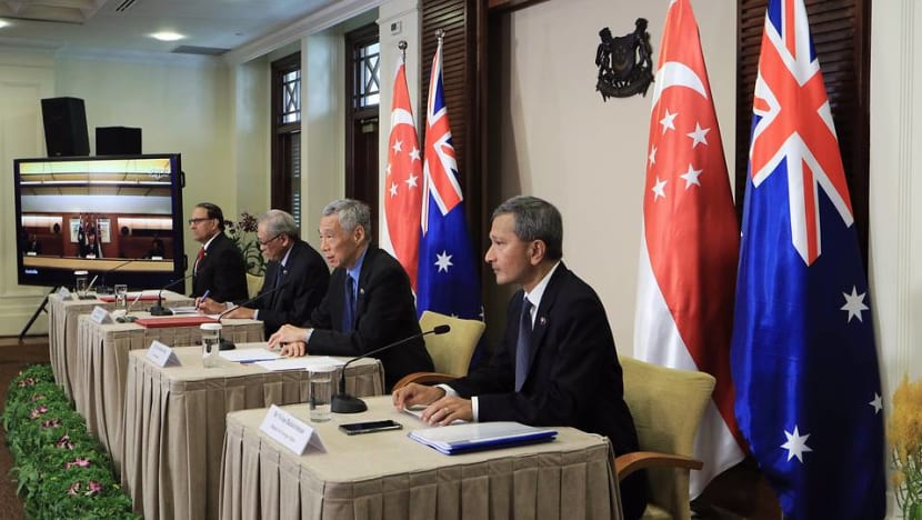 Singapore, Australia leaders hold virtual meeting, agree to keep markets open amid COVID-19 outbreak