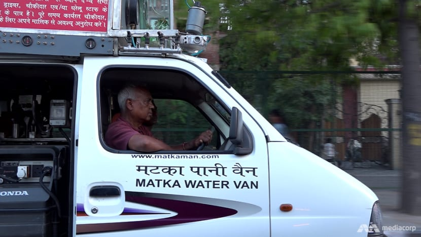 68-year-old 'Water Man' on a quest to quench thirst of Delhi's poor
