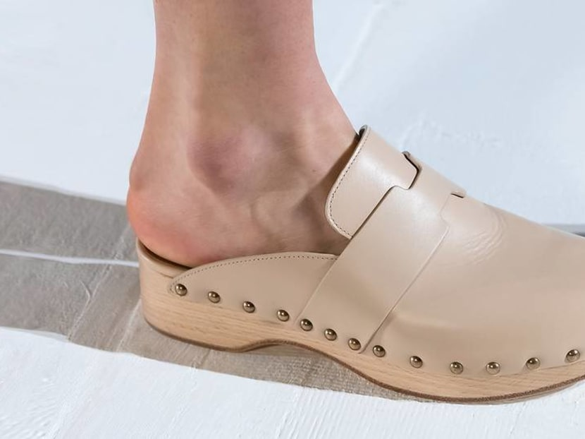 Ladies, clogs are back. But will you put your feet in them?