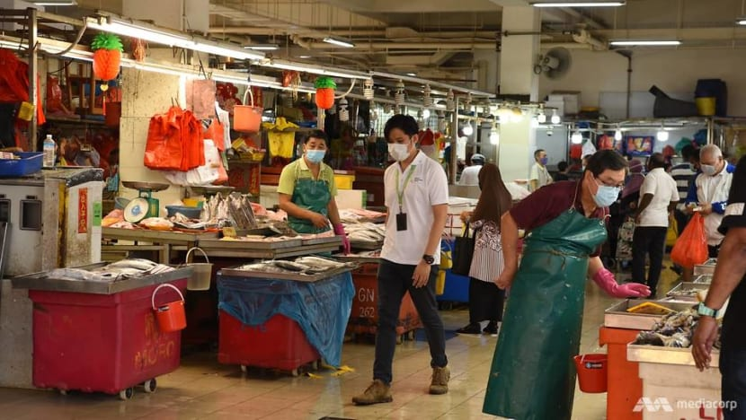 Markets to refuse entry to people not wearing masks from Sunday: NEA