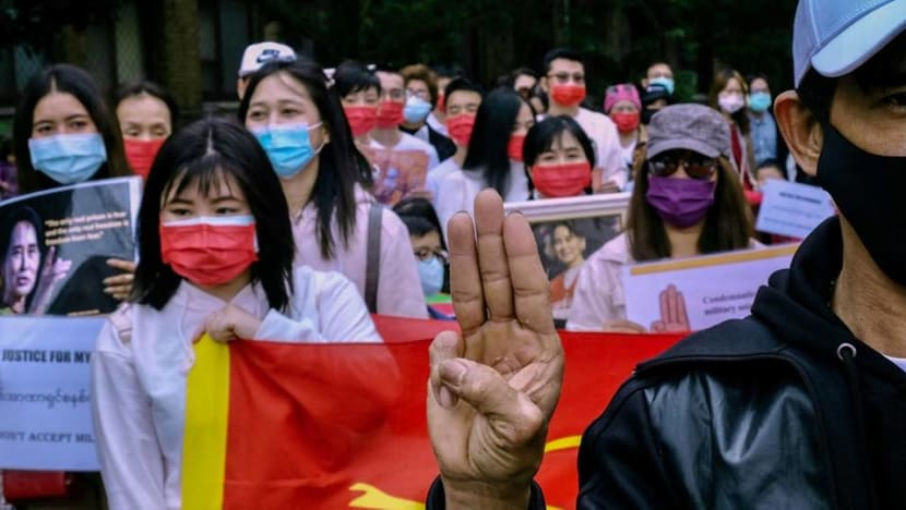 Taiwan tells firms in Myanmar to fly flags to distinguish from China
