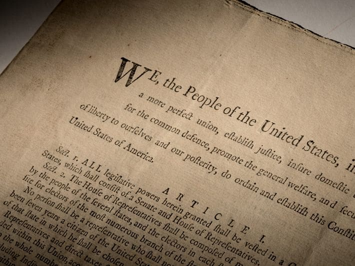 Sotheby's to auction rare first printing of US Constitution