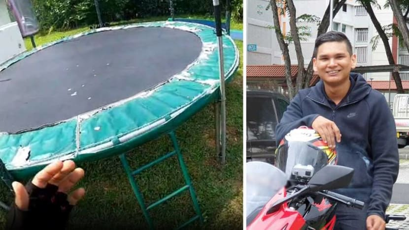 'I thought he would say no': GrabFood delivery rider of viral TikTok trampoline jumping video
