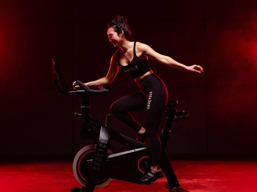 This Singapore gym has a spin bike you can buy for your home workouts