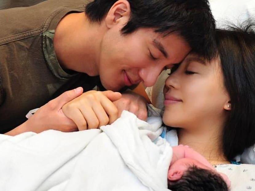It's a boy for singer Wang Leehom