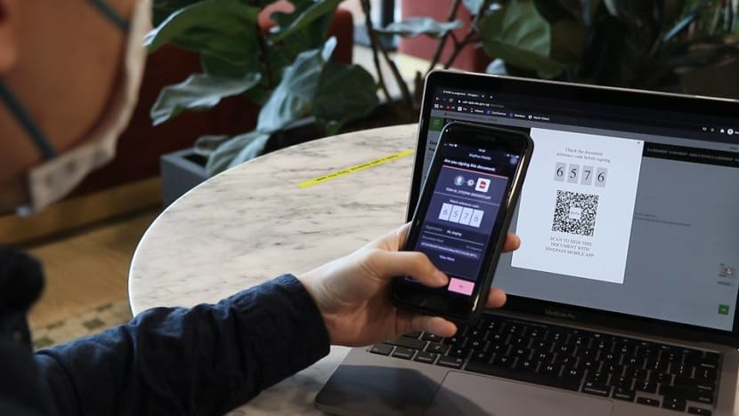 Digital signature for SingPass users to sign legal documents
