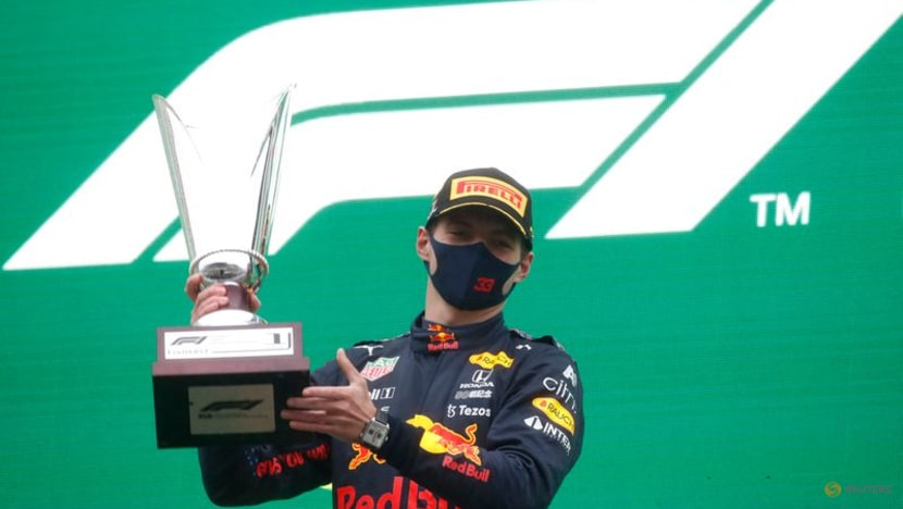 Motor racing:Verstappen wins Formula One's shortest race