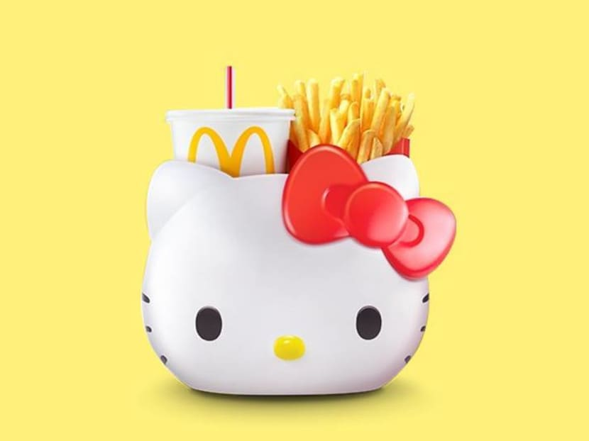 McDonald's Singapore is launching a Hello Kitty carrier for your fries and drink