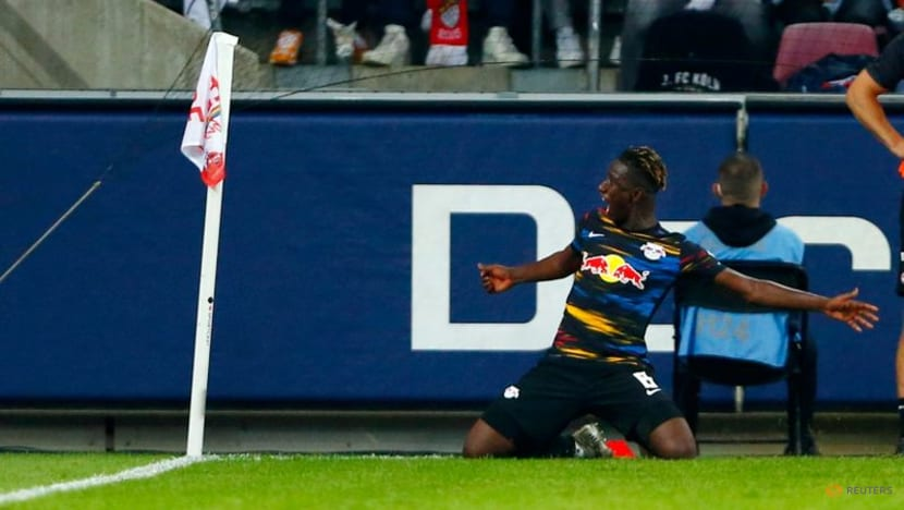 Football: Struggling Leipzig rescue draw at Cologne with second-half equaliser
