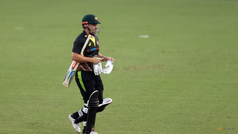 Cricket-Finch on track to lead Australia at T20 World Cup after knee surgery