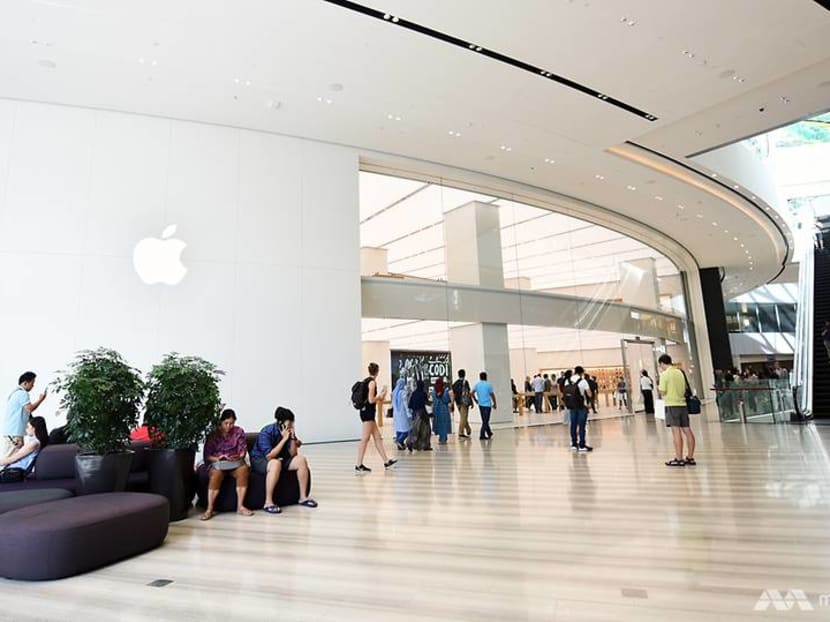 Apple opens its second Singapore store at Jewel Changi Airport on Saturday