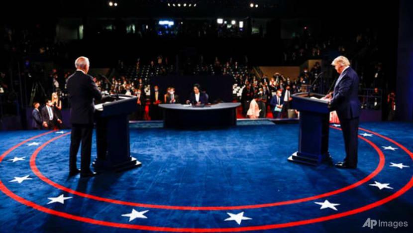 No knockouts at Biden, Trump debate 12 days before election