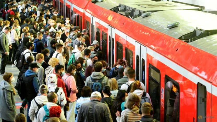 German train driver strike strands passengers and freight