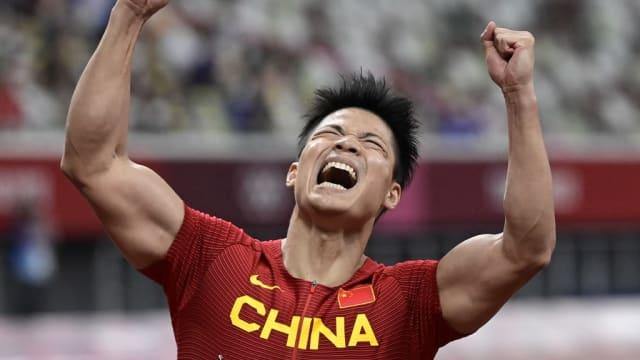 苏炳添百米短跑创亚洲纪录 89年来首位进决赛亚洲人