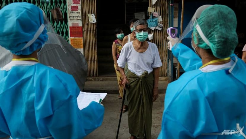 Myanmar reports biggest daily rise in COVID-19 infections