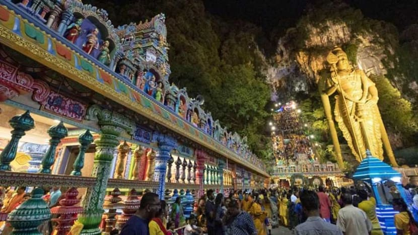 34 injured by fire crackers in Thaipusam celebration at Batu Caves