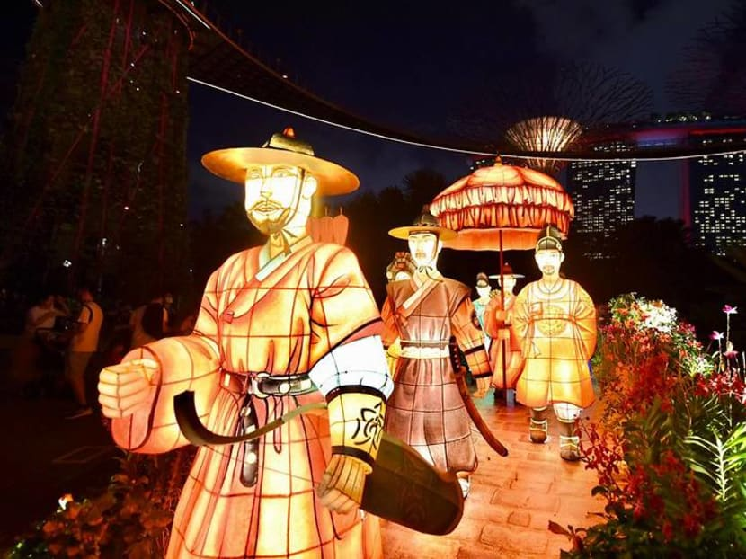 Six lantern displays, online activities kick off Mid-Autumn Festival at Gardens by the Bay