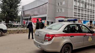 俄罗斯一所大学发生枪击案 一名学生开枪击毙至少八人