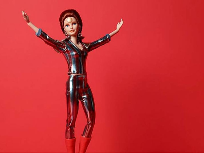 There's a new Barbie doll and it's dressed up as David Bowie