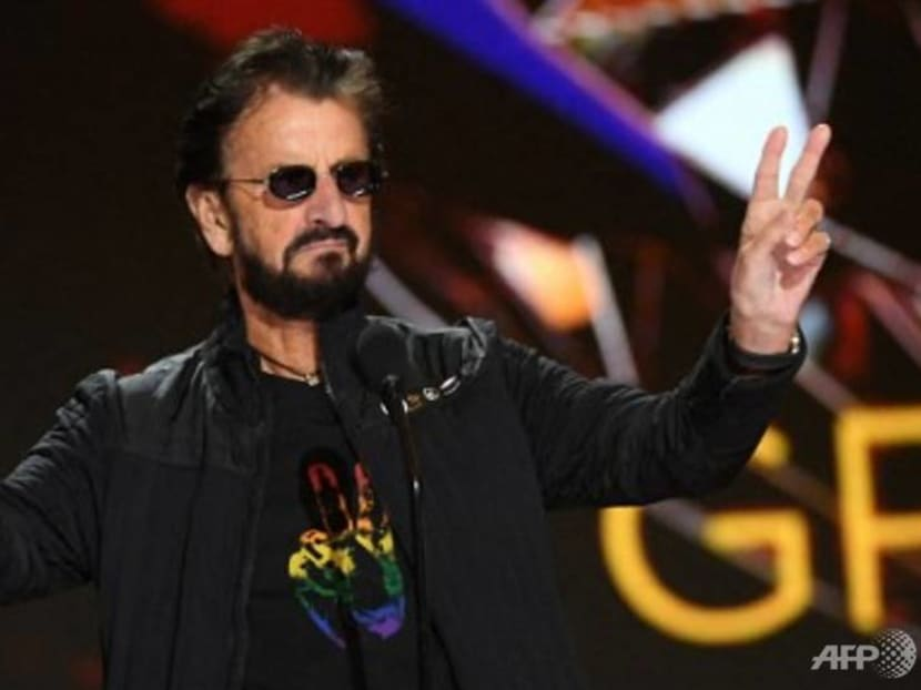 Beatles drummer Ringo Starr rounded up all-star choir for new song