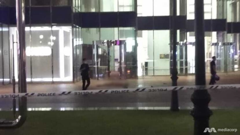 Teenager found dead outside One Raffles Place