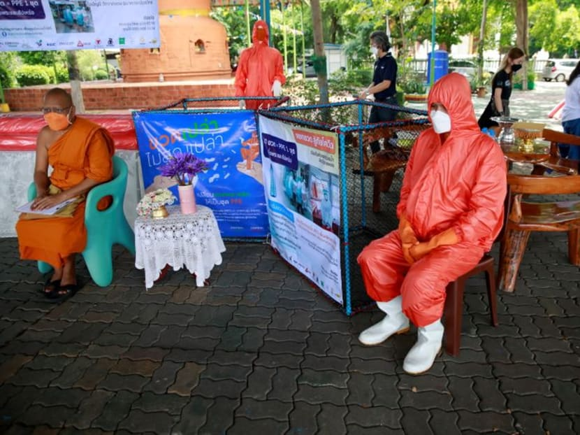Trash to treasure: Thailand makes COVID-19 protective gear out of upcycled bottles