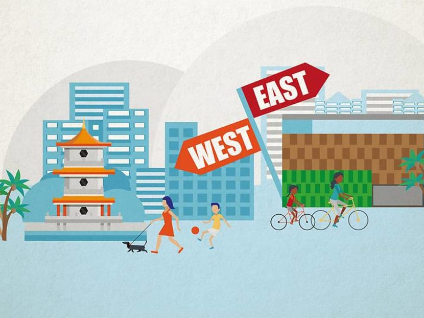 Easties vs Westies? Which is better: Tampines Central or Jurong East?
