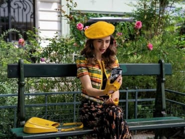 Emily In Paris is returning for season two – and the chaotic fashion is here to stay