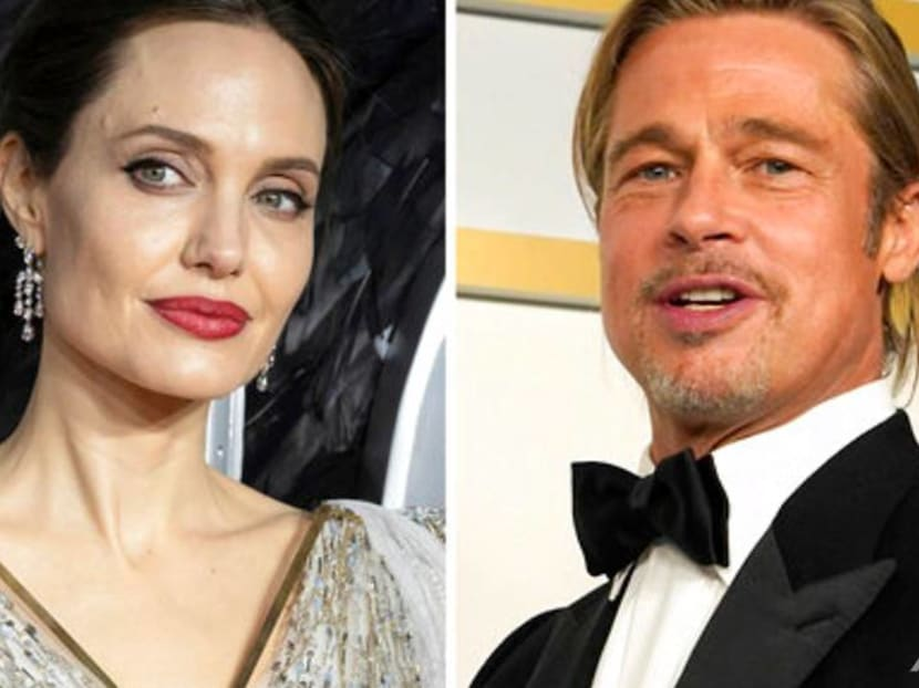 Angelina Jolie says she and Brad Pitt fought about him working with Harvey Weinstein