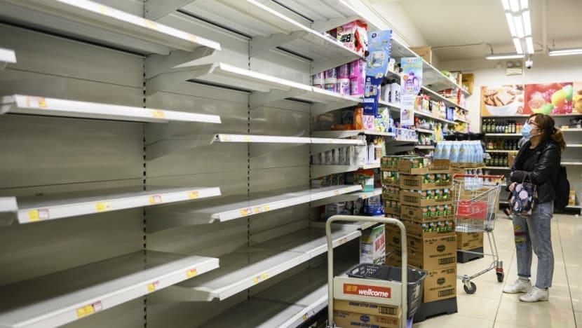Viral hysteria: Hong Kong panic buying sparks run on toilet paper