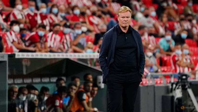 Soccer-Teams showing more courage against Barca without Messi, says Koeman