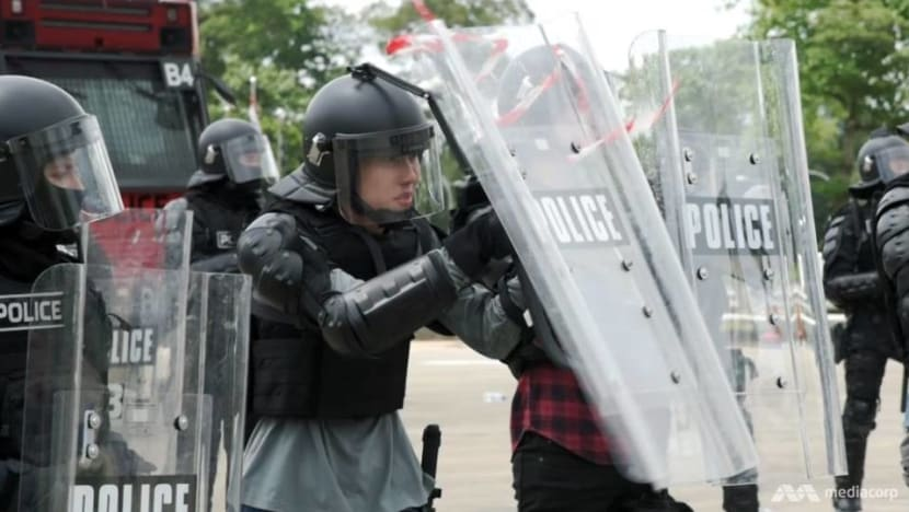 The riot squad: How the Police Tactical Unit keeps the peace