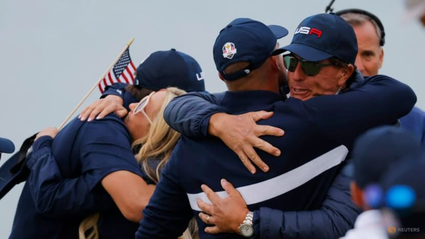 US players getting Ryder Cup celebrations started early