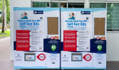 100 vending machines to be set up for collection of COVID-19 self-test kits