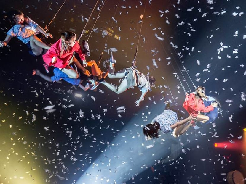 Ramayana, aerial arts and Intergalactic Dreams at this month's Singapore Night Festival