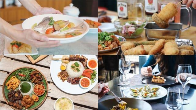 这些餐馆周末开放堂食 带爸爸享父亲节大餐!