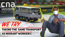 Talking Point 2021/2022 - S1: We try riding in the back of a lorry like migrant workers