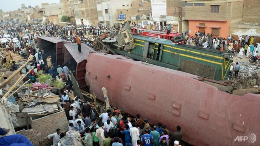 At least three dead after passenger train collides with goods train in Pakistan: Officials