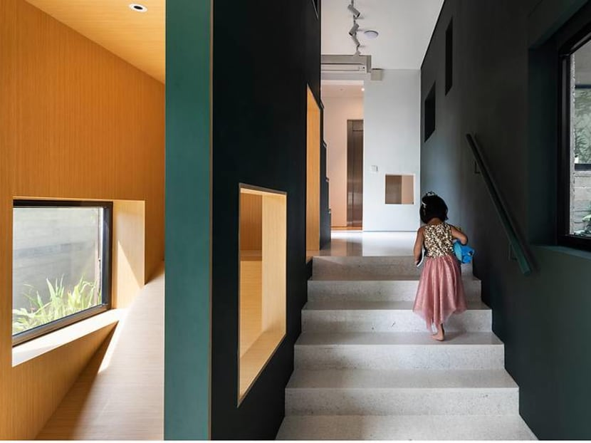 In Singapore, a house with 80 windows – that bring the family closer