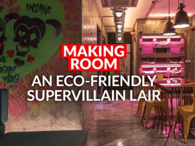 Step inside this edgy, 'post-apocalyptic' 4-room HDB flat | CNA Lifestyle