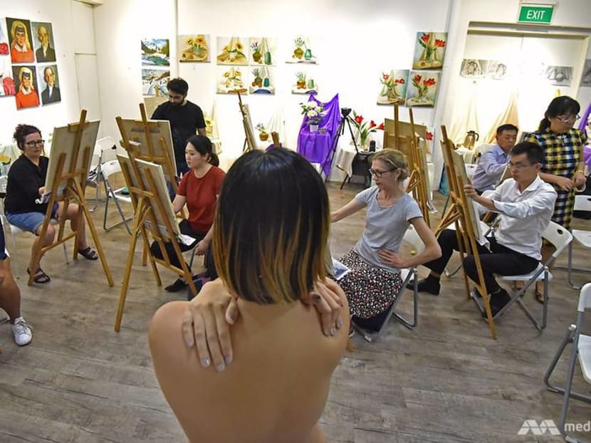 Naked art: Take a peek inside a nude drawing class in Singapore