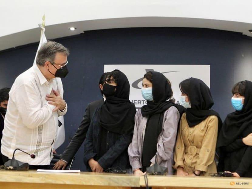 Don't abandon Afghanistan, pleads member of Afghan all-female robotics team