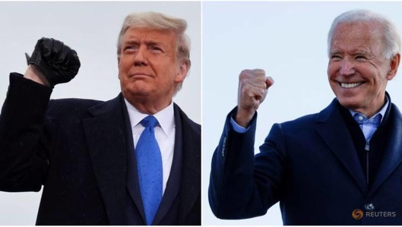 Trump touted the economy; the economy voted for Biden