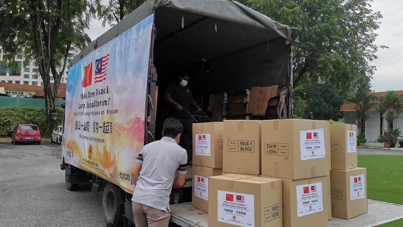 China sends medical supplies to hospital in Malaysia state hit hardest by COVID-19
