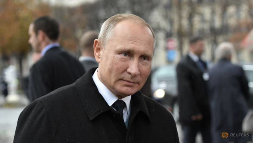 Putin says Russia must compete under flag at sports events