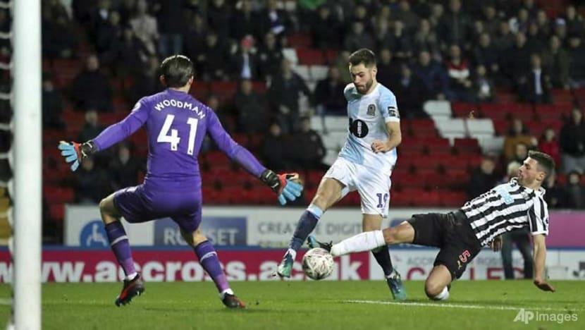 Football: Newcastle survive Blackburn scare, Wednesday earn Chelsea clash