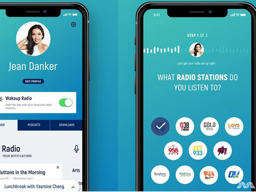 Mediacorp's revamped MeRadio app and website now offer more interactive features