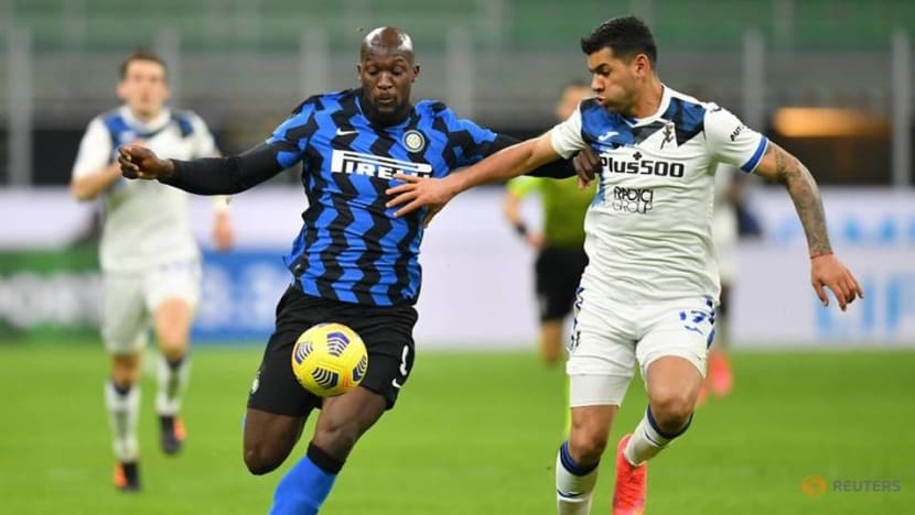 Football: Inter edge past Atalanta to extend lead at top to six points